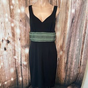Kay Unger Embroidered Casual Dress